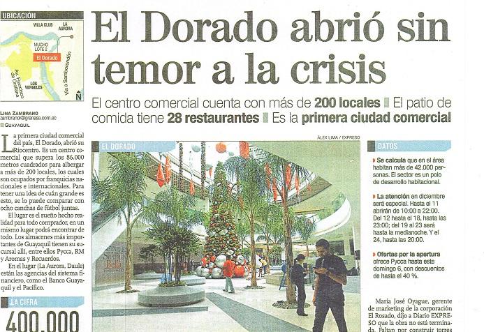 EL DORADO  DIC  2015