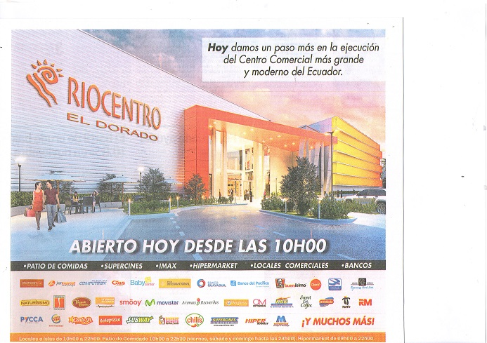 RIOCENTRO EL DORADO